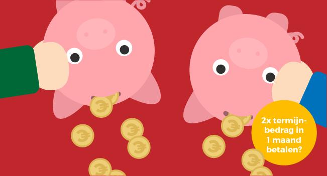 Twee energieleveranciers betalen in 1 maand?