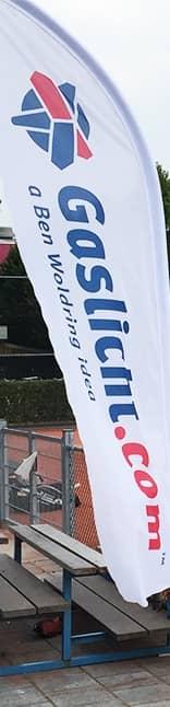 Gaslicht.com vlag