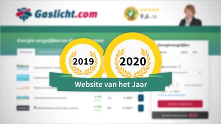Gaslicht.com opnieuw benoemd tot Website van het Jaar