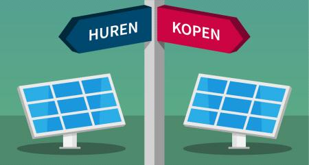 Zonnepanelen huren of aanschaffen? | De verschillen