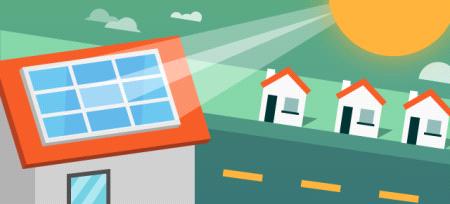 Zonne-energie delen met de buren
